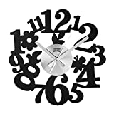 Frameless Nature Wall Clock for Kitchen and Living/Playroom