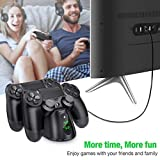 PS4 Controller Charger, BEBONCOOL PS4 Charging