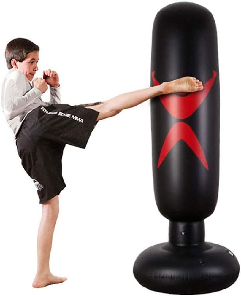 ALTINOVO Kids Free Standing Boxing Punch Bag,Free Standing Punching Bag Boxing Punch Exercise Bag Ball For Kick Boxing Martial Ats For Teenagers Or Adults To Lose Weight