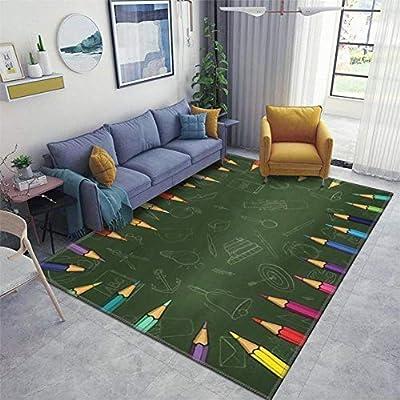 Area Runner Rug Soft Indoor Nursery Rug Non Slip Carpet For Living