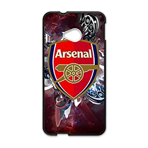 HGKDL arsenal wallpapers hd Hot sale Phone Case for HTC ONE M7 Black