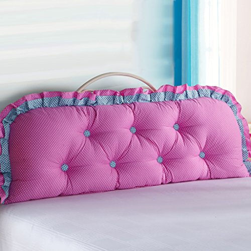 (QIANGDA Headboard Cushion Border-radius Bed Backrest Positioning Support Pillow Bed Cushion Soft Bag,8 Colors 4 Sizes Available (Color : 3#, Size : 18545cm) )