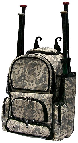 Digital Camouflage Chita M Softball Baseball Bat Equipment Backpack DGYCAChitaM by MAXOPS