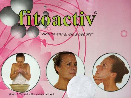 """New Natural Vitamin E, Vitamin A + Aloe-vera Antiage Mask """"Real Lifting Effect"""""""