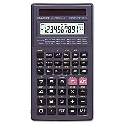 Casio : FX-260 Solar Scientific Calculator, 10-Digit x Two-Line Display, LCD -:- Sold as 2 Packs of - 1 - / - Total of 2 Each