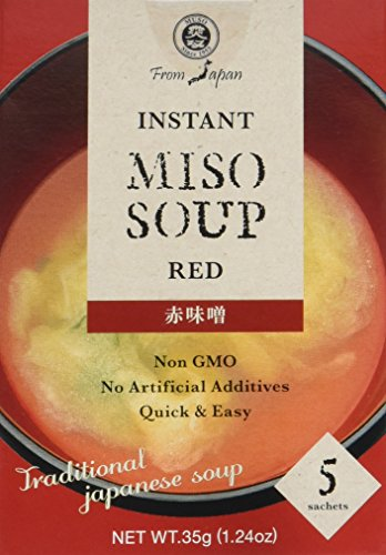 Muso From Japan Instant Miso Soup, Red, 1.24 Ounce