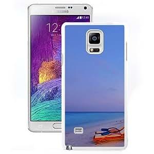 New Beautiful Custom Designed Cover Case For Samsung Galaxy Note 4 N910A N910T N910P N910V N910R4 With Luxury Beach Resort (2) Phone Case