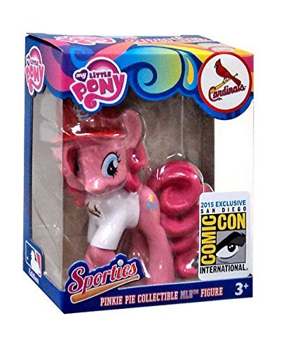 My Little Pony MLB Sporties Pinkie Pie St. Louis Cardinals Exclusive 3