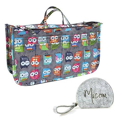 Printing Expandable Handbag Cosmetic Organizer product image