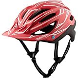 Troy Lee Designs A2 MIPS Helmet Pinstripe Red/Black, XL/XXL