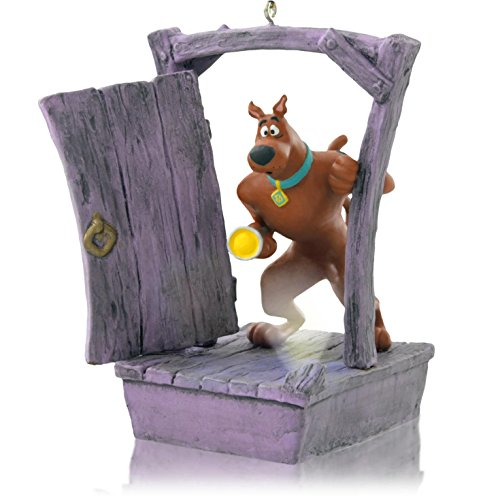 1 X Scooby Gets Spooked - Scooby-Doo - 2014 Hallmark Keepsake Ornament