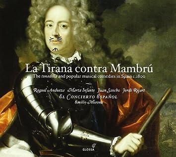 Tirana Contra Mambru: Tonadillia & Popular