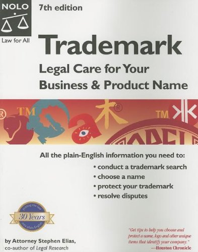 Trademark: Legal Care for Your Business & Product Name ebook