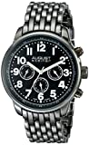 August Steiner Men's AS8147BK Analog Display Swiss Quartz Black Watch