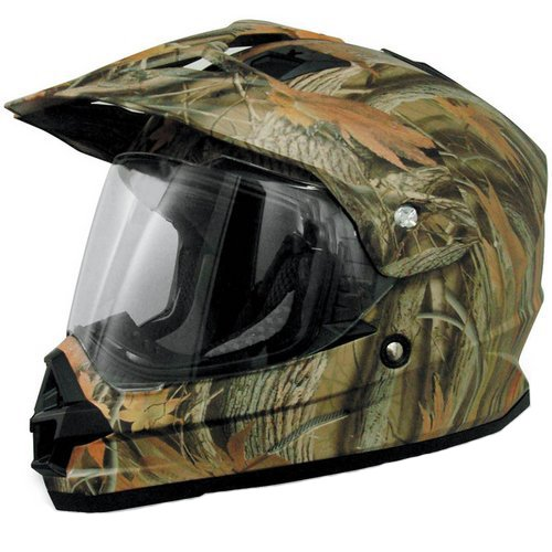 Camouflage Motorcycle Helmet - 9