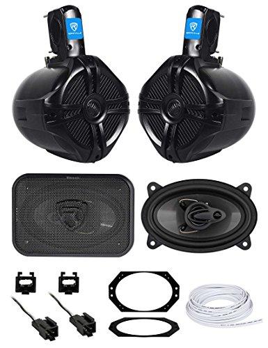 - Overhead Soundbar Rollbar+Front Speaker Upgrade for 1997-2002 Jeep Wrangler TJ
