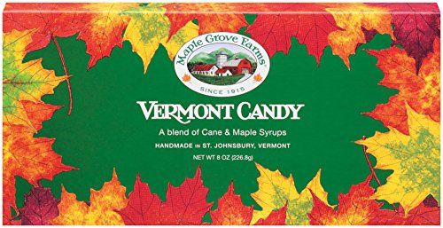 Maple Grove Farms Blended Maple Candy, Fancies & Leaf Shapes, 8 Ounce (Maple Sugar Candy)