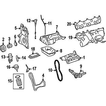 Amazon Com Mercedes Benz 642 010 14 28 Engine Oil Pan Automotive