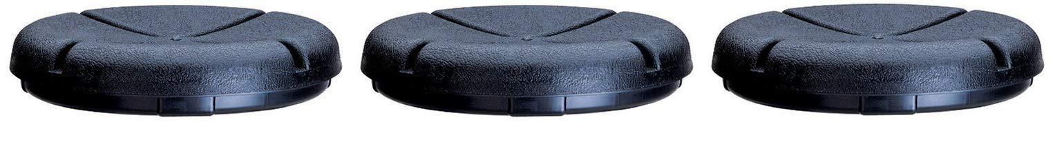 Custom Leathercraft CLC 1140 EasySeat Lightweight Plastic Bucket Seat for 3 1/2-5 Gallon Buckets (Тhree Pаck)