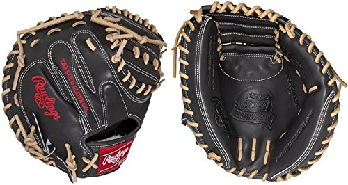 Rawlings Pro Preferred Baseball Catcher's Mitt, Russell Martin Game Day Model, Regular, 1-Piece Solid Web, 33 - Mitt Catchers Model Baseball