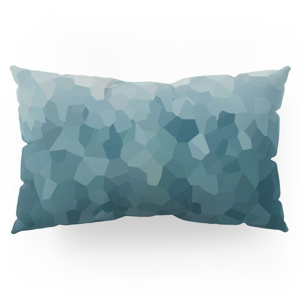 Society6 Ice Blue Mountains Moon Love Pillow Sham King (20'' x 36'') Set of 2