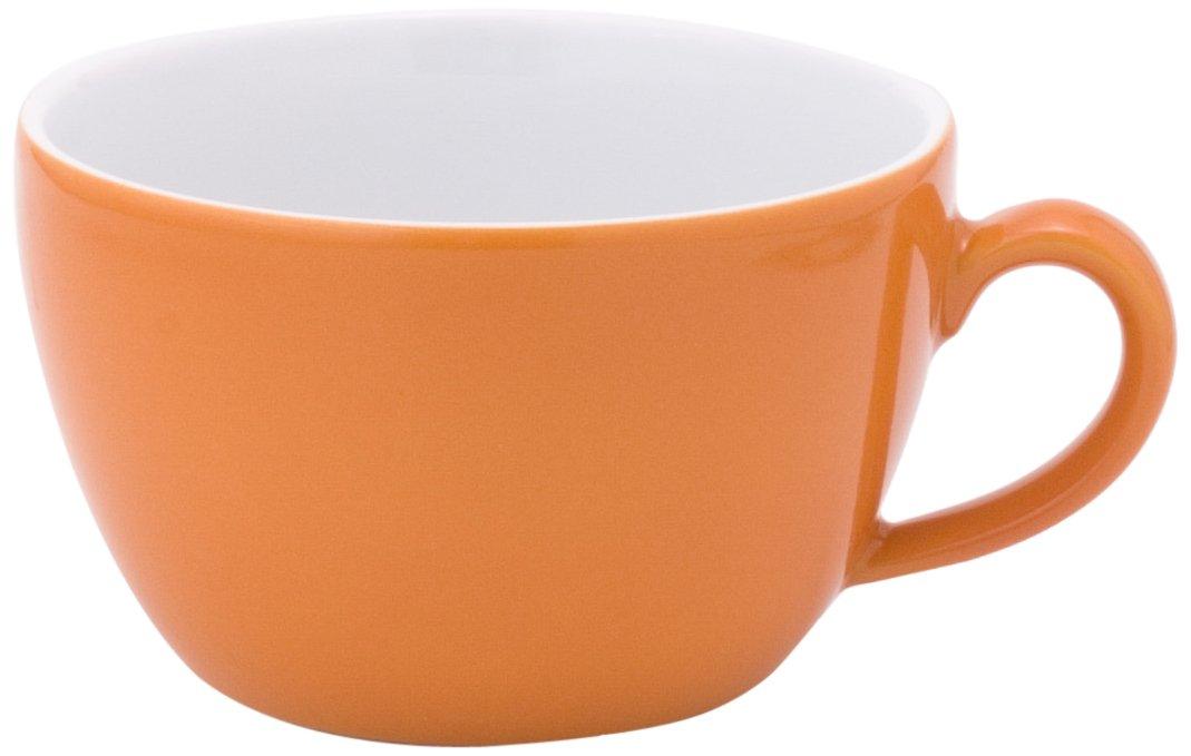 KAHLA Pronto Cappuccino Cup 8-1/2 oz, Orange Color, 1 Piece 204708A72556C
