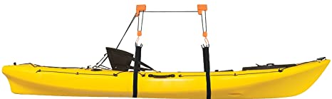 Bon Heavy Duty Garage Utility Canoe And Kayak Lift Hoist Pulley Storage
