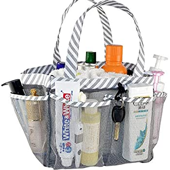 Amazon.com: ACEEN Mesh Shower Caddy Tote, Portable College ...