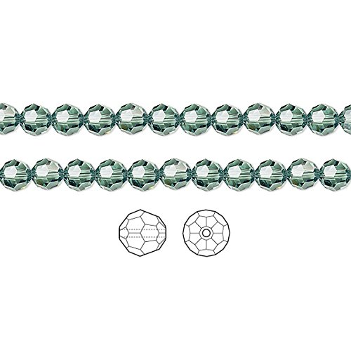 Swarovski Crystal Beads Erinite 5000 Faceted Round 8mm Package of -