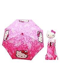 Umbrella - Hello Kitty - Pink Bows New Gift Toys Kids Girls Licensed hek2307