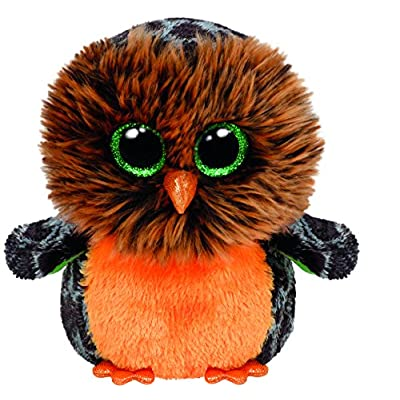 Ty Beanie Boos Plush - Halloween Midnight Owl 15cm: Toys & Games