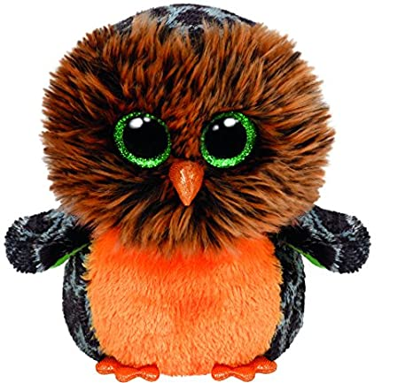 8f7edd24a83 Image Unavailable. Image not available for. Color  Ty Beanie Boos Plush -  Halloween Midnight Owl 15cm