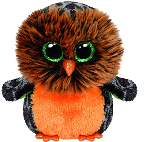 Ty Beanie Boos Plush - Halloween Midnight Owl 15cm ()
