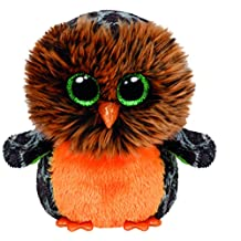 TY Beanie Boo Plush - Midnight the Owl 15cm (Halloween Exclusive)