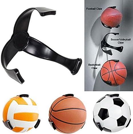 Soporte gancho pared para pelotas basquet futbol de OPEN BUY ...