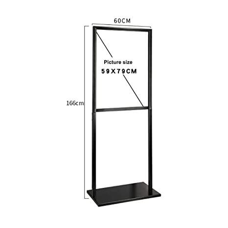 Amazon.com: Bxwjg Poster Stand Double-Sided Standing Sign ...