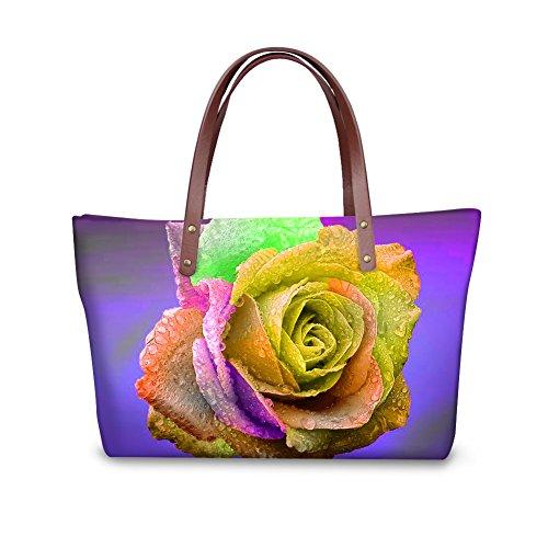 Bags Shoulder Bags leather Women FancyPrint V6lcc3455al School xXgZx