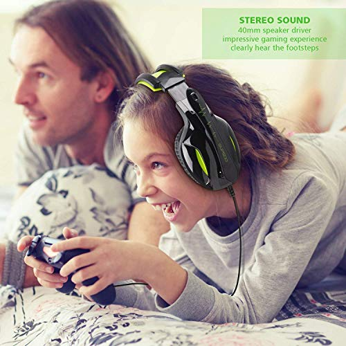 SUPSOO G813 Xbox One PS4 Gaming Headset 3.5mm wired Over Ear Noise