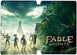 [PU del tirón del cuero] iPad mini 1 Mini 2 Mini 3 Funda Fable Legends [Theme] GJ8094