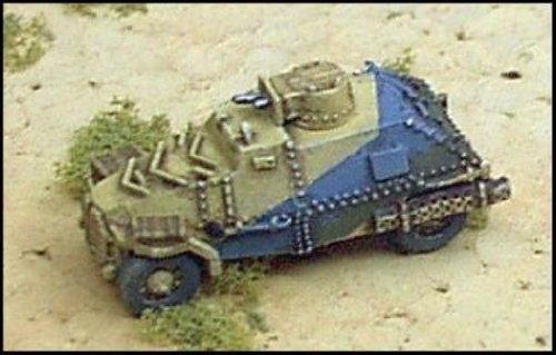WWII Micro Armour - United Kingdom - Armored Cars Marmon Herrington - Car Marmon