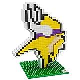 NFL Team BRXLZ 3D Logo Puzzle Set (Minnesota Vikings)