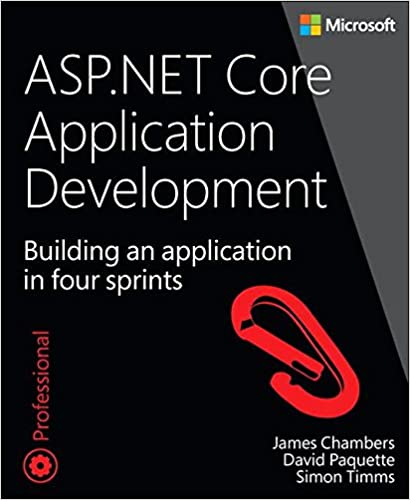 ASP NET Core Application Development application