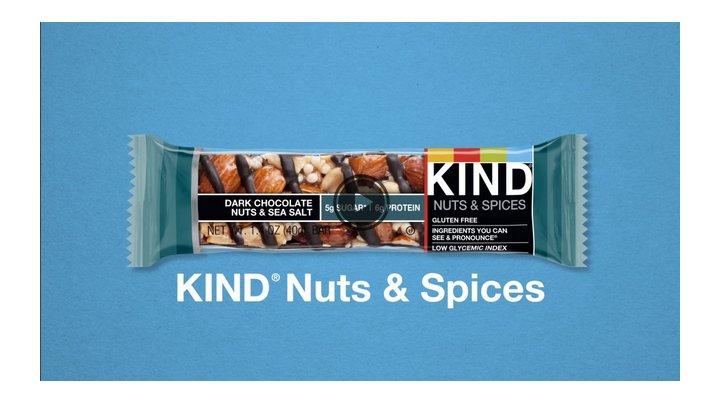 KIND Bars, Dark Chocolate Nuts & Sea Salt, Gluten Free, 1.4 Ounce Bars, 12 Count