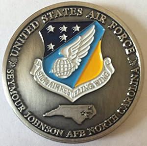 Seymour Johnson Air Force Base Challenge Coin