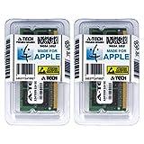A-Tech For Apple 4GB Kit 2 x 2GB PC3-10600 Mac mini iMac MacBook Pro Mid 2010 Late 2011 A1286 MD311LL/A A1297 MC511LL/A A1312 MC309LL/A A1311 MC812LL/A MC813LL/A MC814LL/A MC815LL/A A1347 Memory RAM