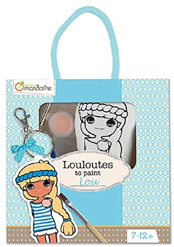 Avenue Mandarine Louloutes to Paint - Lou 42784O