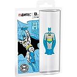 Emtec ECMMD8GSH102 USB 2.0 Memory Stick 8 GB Super Heroes Batman Design