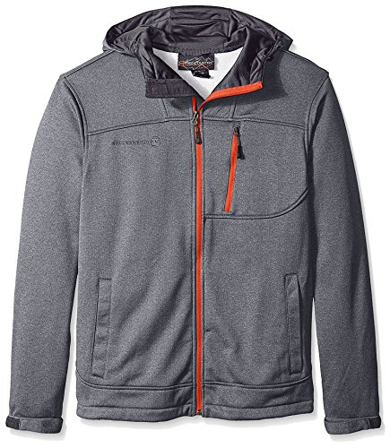 Price comparison product image Free Country Men's Marled Fleece Jacket, Light Grey, XXL