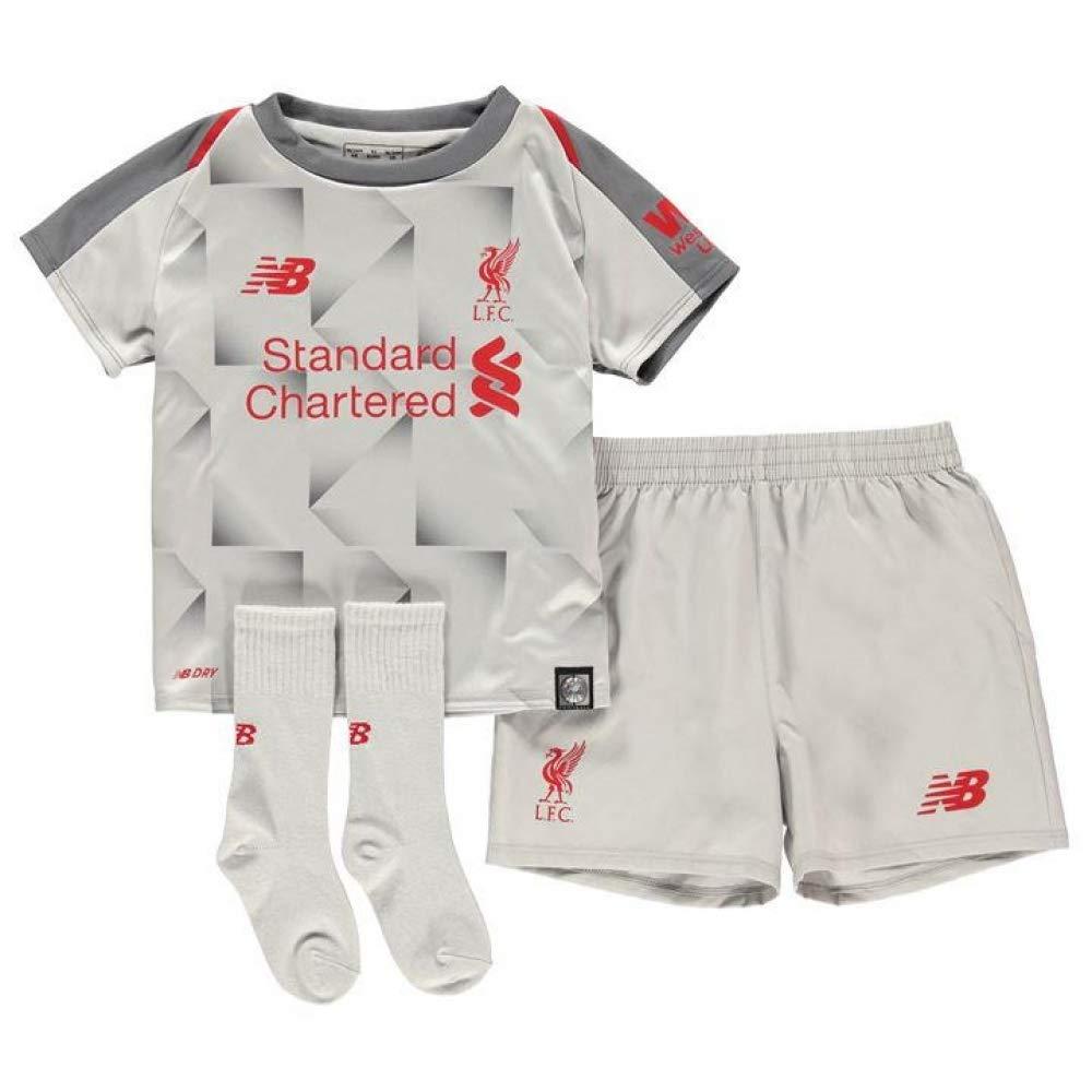 Liverpool FC 18/19 3rd Mini Kids Football Kit - GRV