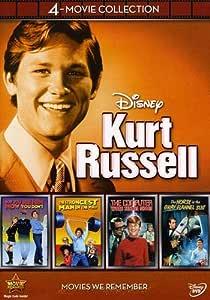 Disney Kurt Russell: 4-Movie Collection Reino Unido DVD: Amazon.es ...
